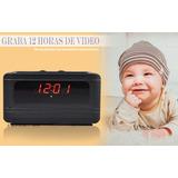Reloj Digital Con Cámara, Control Remoto, Sensor De Movimien