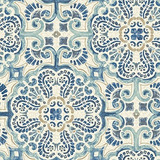 Nuwallpaper Nu2235 Florentine Tile Peel And Stick Papel Pint