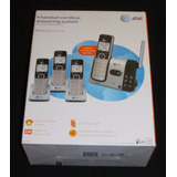 Telefono Inalambrico At&t 4 Estaciones Rescidencia O Oficina