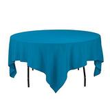 Linentablecloth 85inch Cuadrado Mantel De Poliester Caribeñ