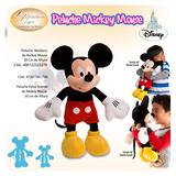 Peluche De Mickey Mouse 100% Oiginal