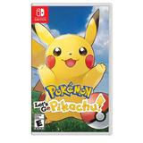 Pokemon Lets Go Pikachu Juego Para Nintendo Switch