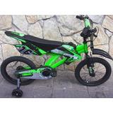 Bicicleta Tipo Motor Aro 16 Green 2019