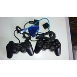 Control Play 2 Y Adaptador Para Play 3