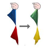 Truco De Magia-pañuelos Que Cambian De Color