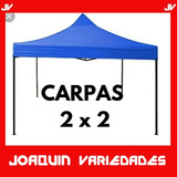 Carpas Plegables 2x2  Diferentes Colores