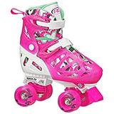 Roller Derby Trac Star - Patines Ajustables Para Niña