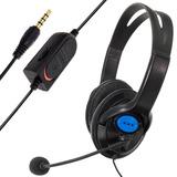 Audifono De Cable Con Micrófono Idear Para Juegos En Consola