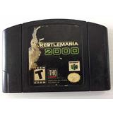 Wrestlemania 2000 Nintendo 64