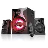 Bocinas Klipx 2.1 Kws-640, 56w, Bluetooth, Sd, Usb,fm Radio