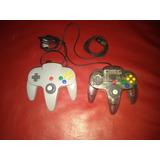 Controles De N64