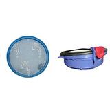 Kit De Filtros Para Dyson Dc25 Incluye Filtro Lavable Pre Y