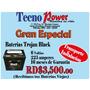 Baterias Trojan Black Para Inversores Rd$3,500 * Que Locuraa