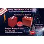 Inversor 1.5 Kw + 2 Baterias Material Gastable E Instalacion