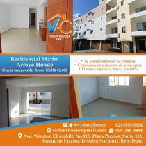 Exclusivos Apartamentos En El Residencial Marim De 2 Y 3 Hab