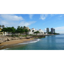 For Rent Apto. Amueblado 2hab. 1er Linea De Playa, Malecón