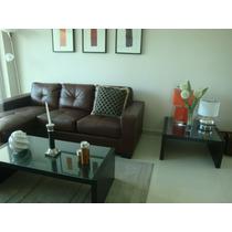 Apartamento Finamente Amueblado En Alquiler Gazcue, 3 Hab.