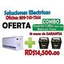 Combo Inversor 1.2 K Con Sus Baterias (todo Incluido)   CARA3366084